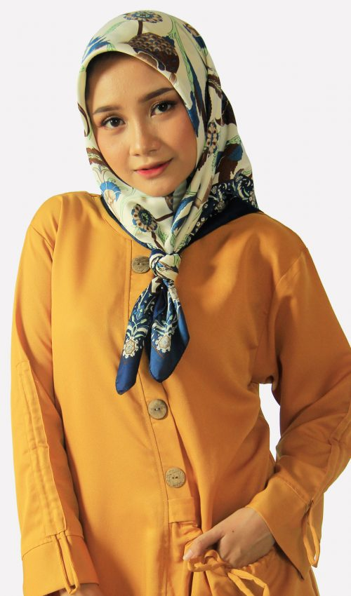 1. Tunik kantong camping yellow | blouse yellow - Tunik
