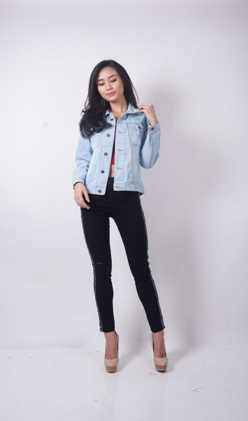 18. DENIM JAKET 11.071 - Jaket Denim