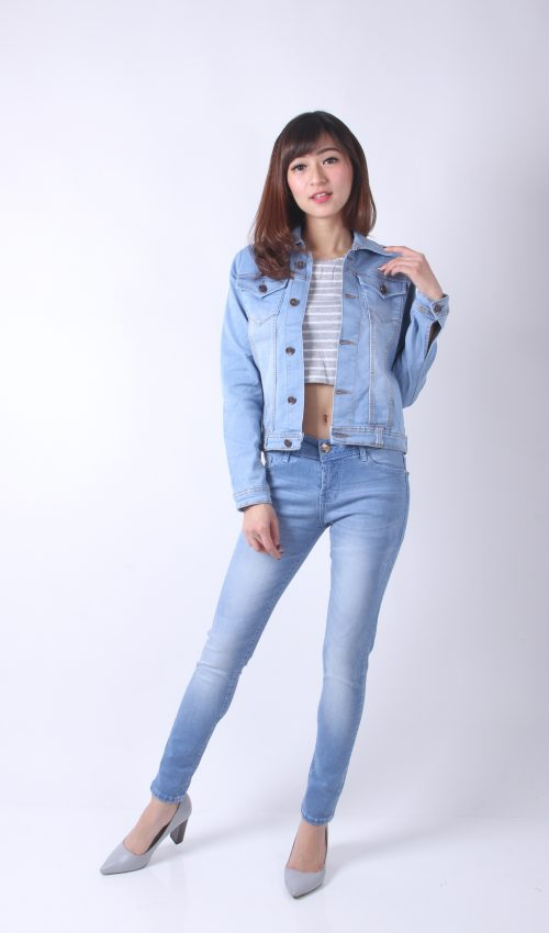 6. DENIM JAKET 80122 - Jaket Denim