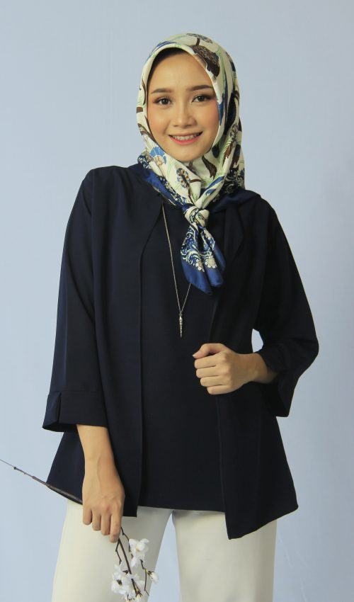 Blouse Blazer Navy - Test